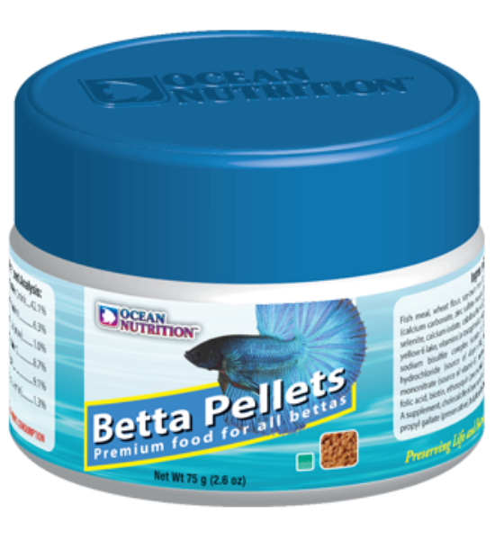 Betta pelletts, betta food
